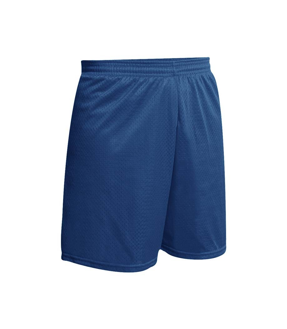 ST. ANN Navy Gym Shorts w/ Logo