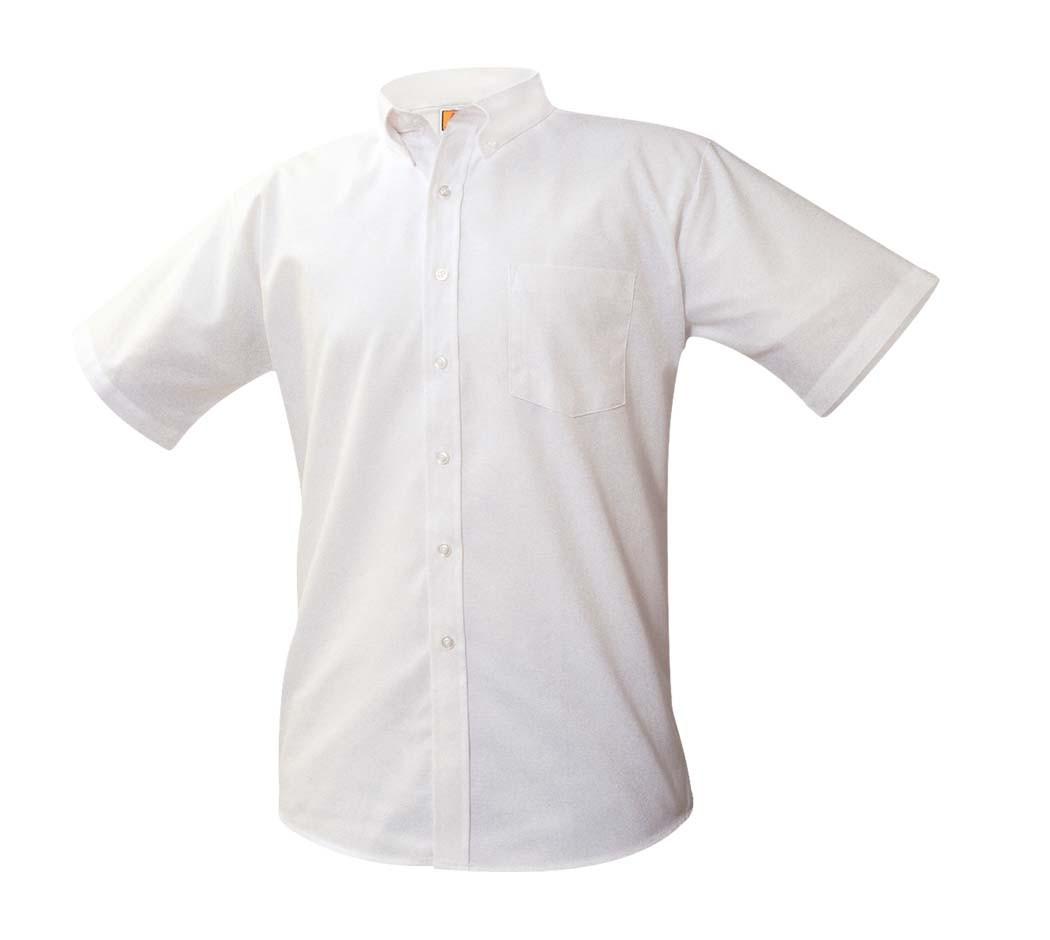 White S/S Oxford Shirt