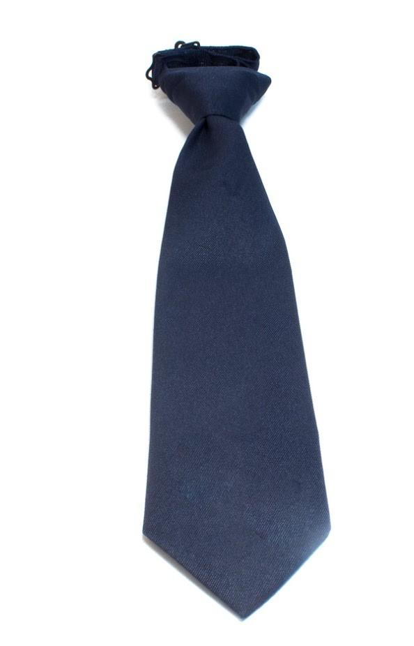 Boys' Navy Tie