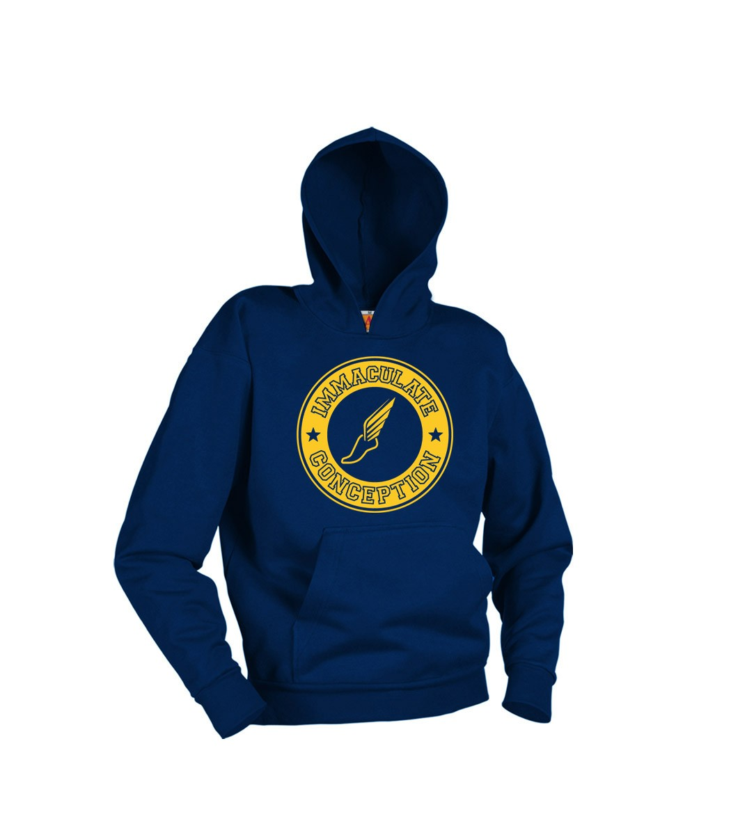 ICS Track Team Hoodie w/Logo & Name - Please Allow 2-4 Weeks for Delivery