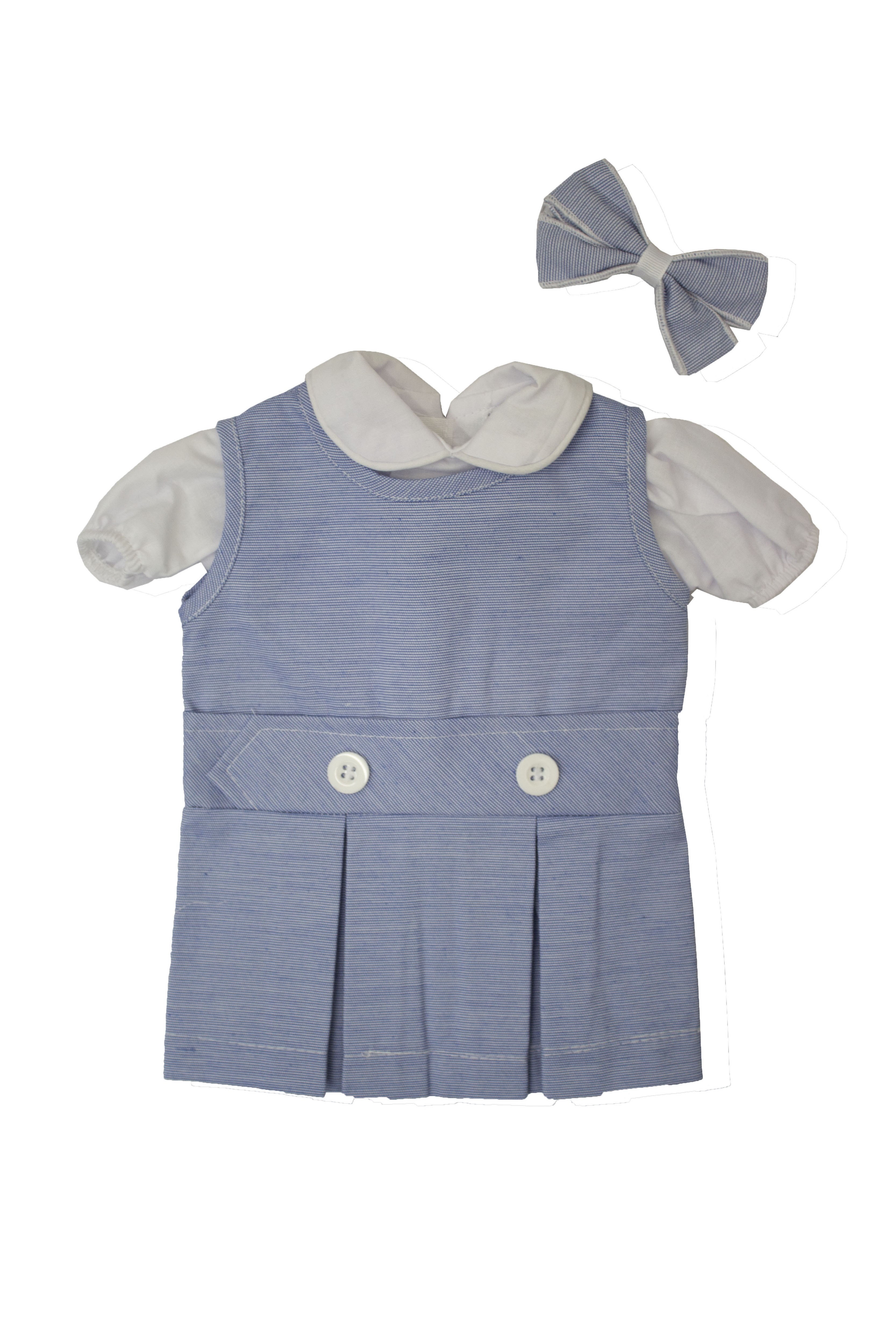 RES Light Blue Doll Dress