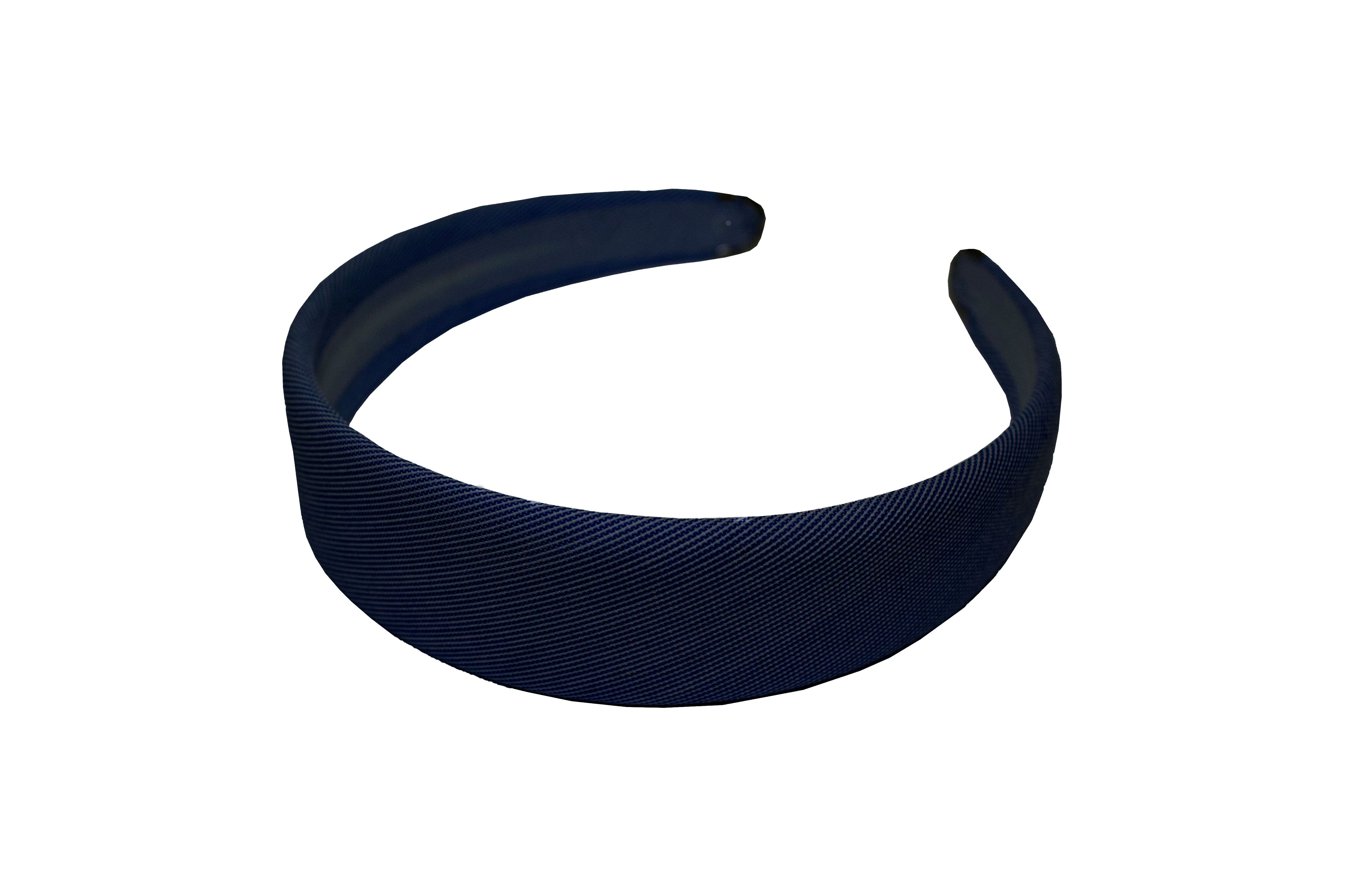 Navy Metal Tipped Headband