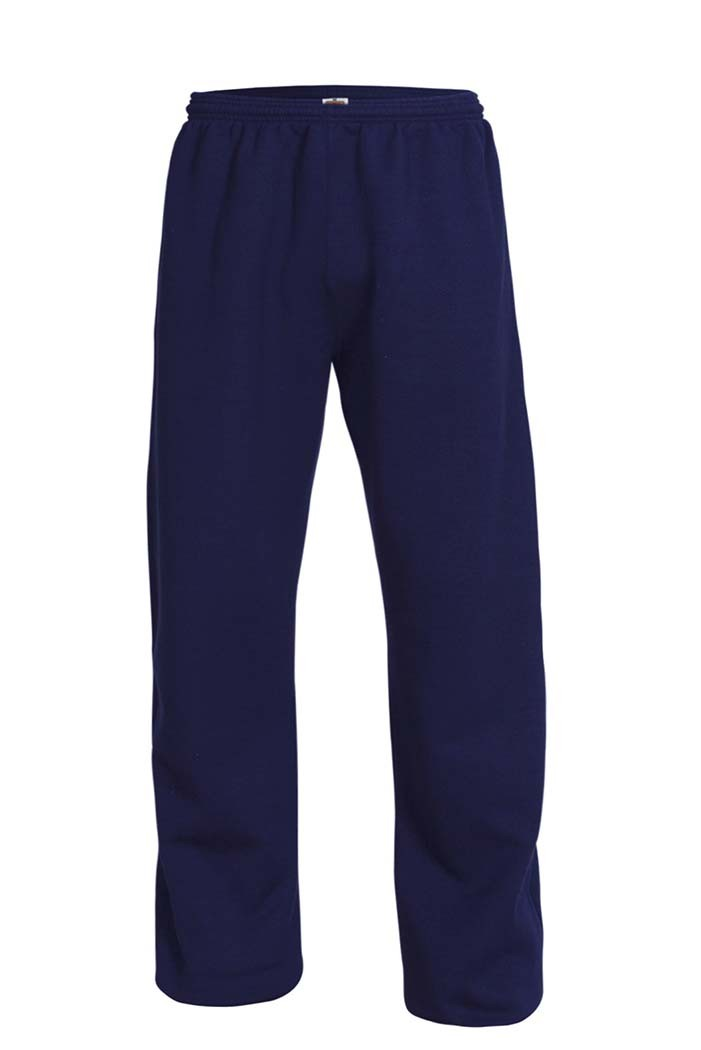 ICS Open Bottom Gym Sweat Pants w/Logo - Grades 5-8 Only