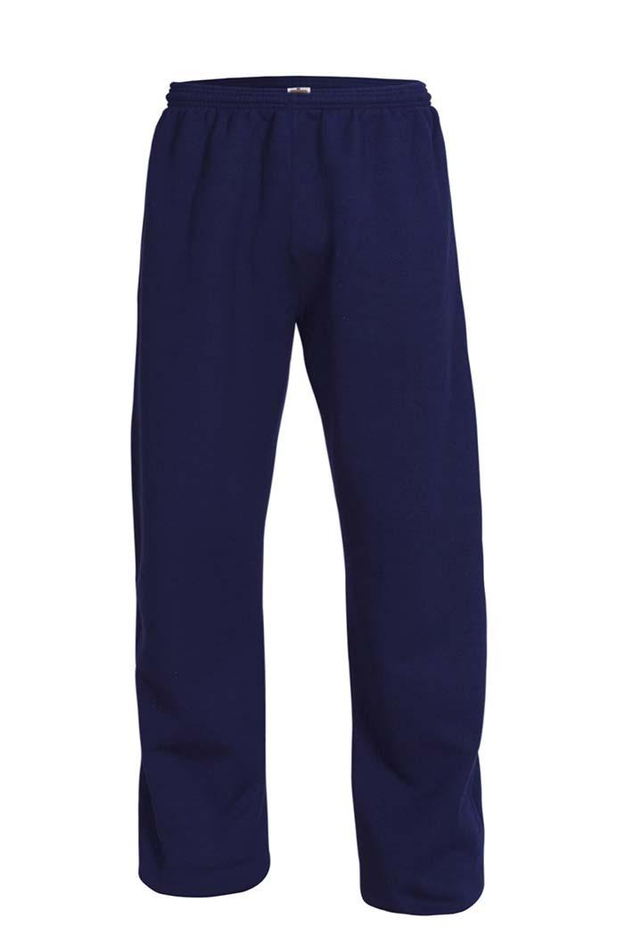 SJS Open Bottom Gym Sweat Pants w/Logo