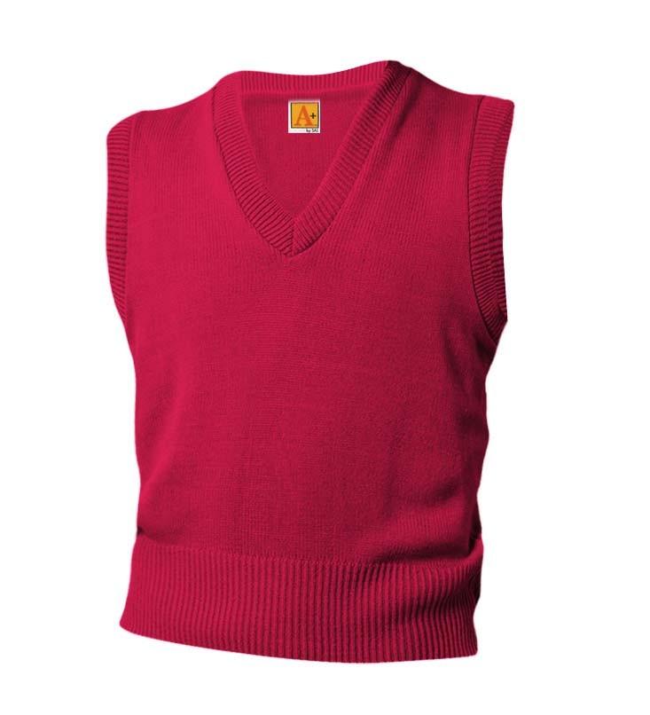 Plain Red Vest