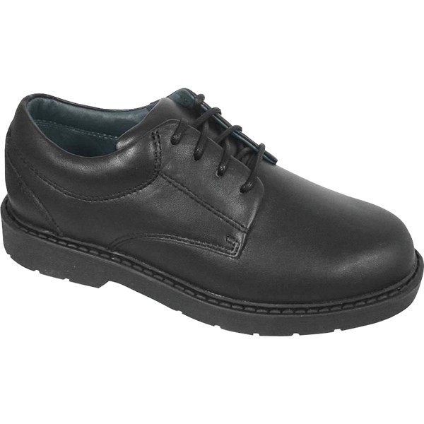 BCBL1 Boys' Black Tie Shoe
