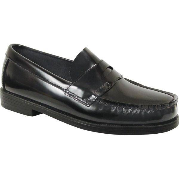 Boys' Black Loafer Shoe