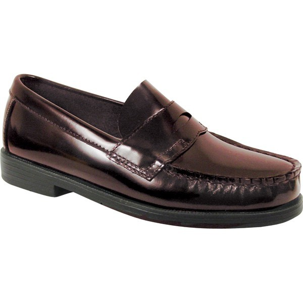 Boys' Burgundy Loafer Shoe