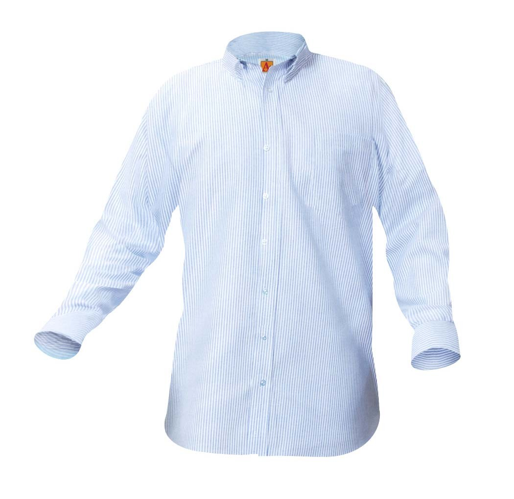 Striped L/S Oxford Shirt