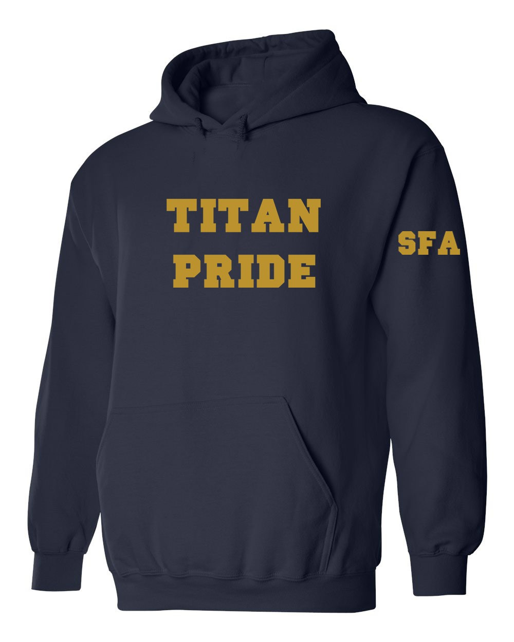 SFA TITANS Pullover Hoodie w/Logo & Custom Name - Please Allow 2-3 Weeks For Delivery