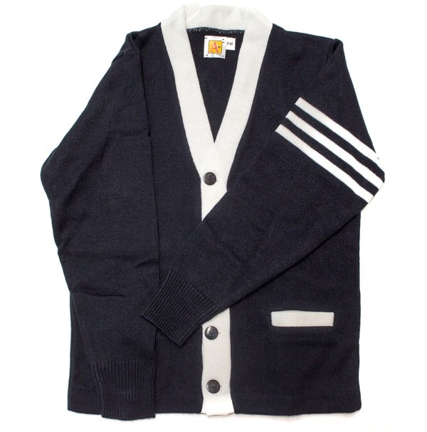 SFA 8th Grade Varsity 2 Pocket Cardigan w/ Logo - Please Allow 6-8 Weeks for Delivery