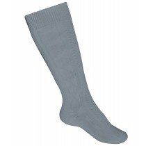 ST. ANN Girls' Grey Cotton Tights