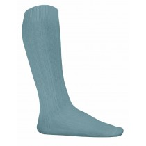 ST. ANN Girls' Grey Cotton Knee-Highs