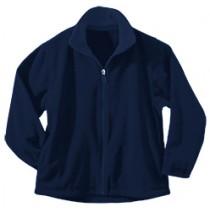 SES SCHOOL SPIRIT WEAR STORE Full-Zip Microfleece w/ Logo - Please Allow 2-3 Weeks for Delivery