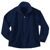 SFX SCHOOL SPIRIT STORE Full-Zip Micro Fleece w/ Logo - Please Allow 2-3 Weeks for Delivery