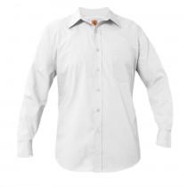 STS Boys' White L/S Dress Shirt