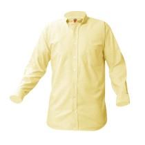 ECM Boys' Yellow L/S Dress Shirt