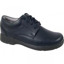 Girls' Navy Tie Shoe