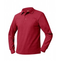 OLS Red, Navy or White L/S Polo w/ Logo