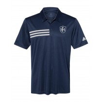 SFA Adidas Stripe Sport Shirt w/Logo - Please Allow 2-3 Weeks For Delivery