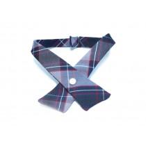 BCBL2 Girls' Plaid Cross Tie