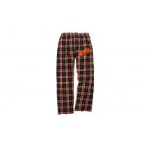 T.M.S. Spirit Black & Orange Pajama Pants w/ 2 Paw Logo* - Please Allow 2-3 Weeks for Delivery