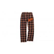 W.E.C. Spirit Black & Orange Pajama Pants w/ 2 Paw Logo* - Please Allow 2-3 Weeks for Delivery