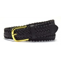 Braided Black Belt