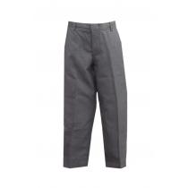 PHS Juniors' Dark Grey Tri-Blend Flat Front Pants w/ Logo