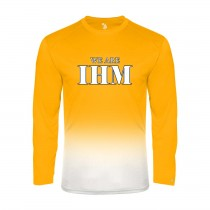 IHM Ombre L/S Spirit T-Shirt w/ We Are IHM Logo - Please Allow 2-3 Weeks for Delivery