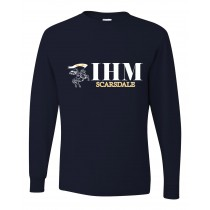 IHM Spirit L/S T-Shirt w/ White Knight Logo - Please Allow 2-3 Weeks for Delivery