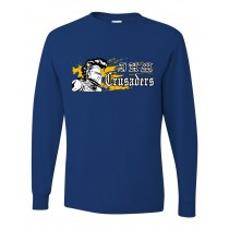 IHM Spirit L/S T-Shirt w/ Crusader Logo - Please Allow 2-3 Weeks for Delivery