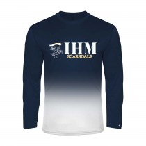 IHM Ombre L/S Spirit T-Shirt w/ White Knight Logo - Please Allow 2-3 Weeks for Delivery