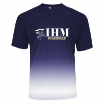 IHM Reverse Ombre S/S Spirit T-Shirt w/ White Knight Logo - Please Allow 2-3 Weeks for Delivery
