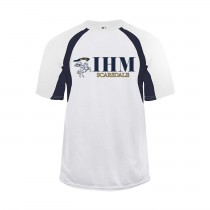 IHM Hook S/S Spirit T-Shirt w/ Navy Knight Logo - Please Allow 2-3 Weeks for Delivery