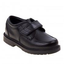 Boys' Black Velcro Shoe - Pre K & K Only