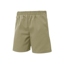 Pull-On Khaki Dress Shorts