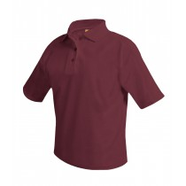 BCBL 1 S/S Maroon or White Polo w/ Logo