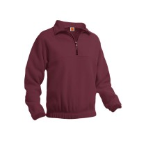 STS Half Zip Microfleece w/ Logo (School Spirit Wear Only)