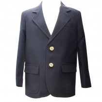 Men's Plain Navy Blazer