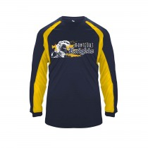 MONTFORT Hook L/S Spirit T-Shirt w/ White Knight Logo - Please Allow 2-3 Weeks for Delivery