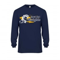MONTFORT L/S Spirit Performance T-Shirt w/ White Knight Logo - Please Allow 2-3 Weeks for Delivery