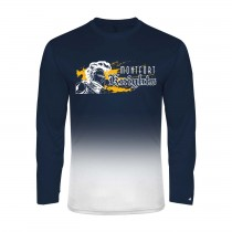 MONTFORT Ombre L/S Spirit T-Shirt w/ White Knight Logo - Please Allow 2-3 Weeks for Delivery
