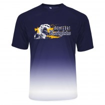 MONTFORT Reverse Ombre S/S Spirit T-Shirt w/ White Knight Logo - Please Allow 2-3 Weeks for Delivery