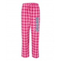 Montfort Spirit Pajama Pants w/ Knights Logo - Please Allow 2-3 Weeks for Delivery