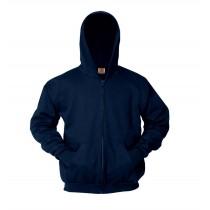 BCBL Zip Hoodie w/Logo