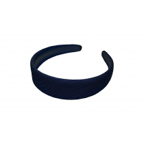 Navy Metal Tipped Headband