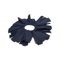 Navy Pom Pom Hair Tie