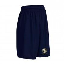 OLV Navy Gym Shorts w/ Logo