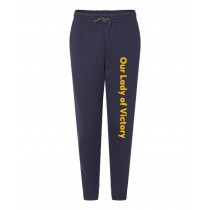 OLV Navy Joggers w/ Logo - Please Allow 2-3 Weeks for Delivery